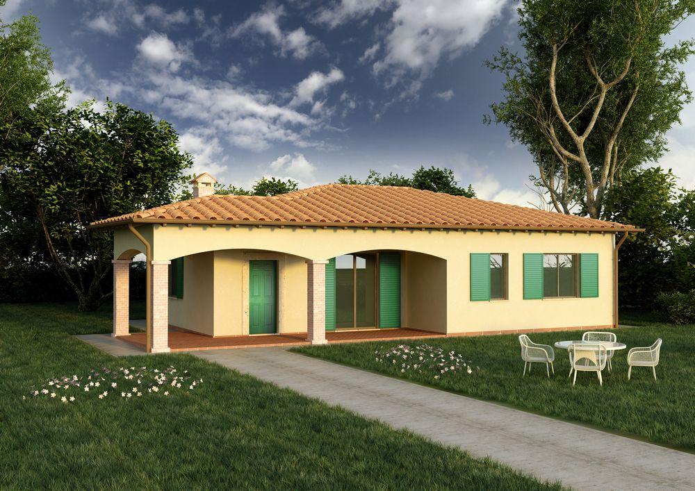 Proposte progetti case prefabbricate prefab - Costo costruzione casa prefabbricata ...