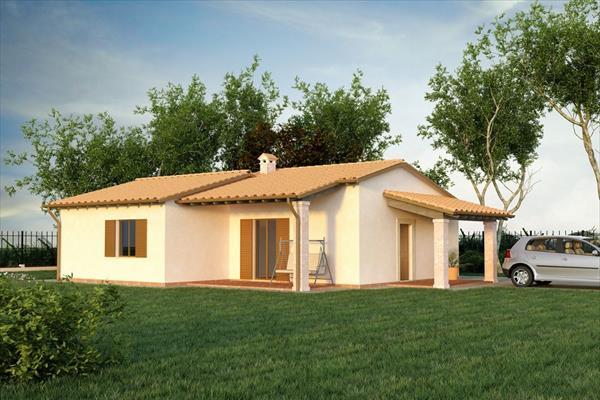 Proposte di progetto case prefabbricate in cemento prefab srl - Alzare casa di un piano costi ...